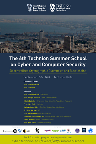 The 6th Summer School on Cyber and Computer Security