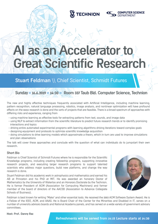 AI as an Accelerator to Great Scientific Research