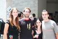 Students and faculty at CS end-of-year fest סטודנטים ואנשי סגל בפסטיבל סיום השנה של מדעי המחשב