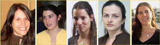 Five CS Students among Google's 2011 Anita Borg Finalists