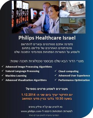 Recruitment Day by Philips Healthcare Israel