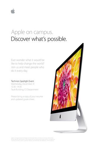 Recruitment Day by APPLE