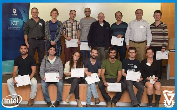Winners of Technion and CS-TCE Intel Challenge, photo 2