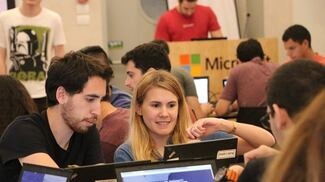CS Students First at Microsoft Breeze Hacking Contest