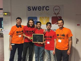 SILVER Medal to CS Team in SWERC 2017