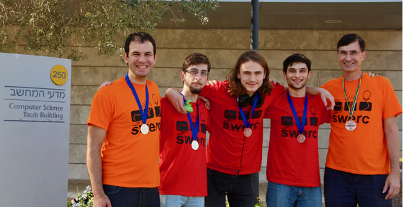 SILVER Medal to CS Team in SWERC 2017, photo 2