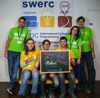 CS Team in SWERC 2018