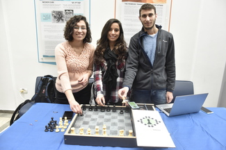 Technion Students Developed A Special Chess Board