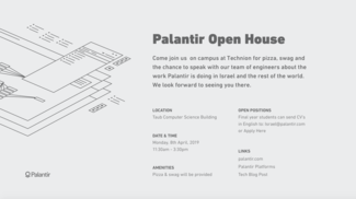 Recruitment Day by PALANTIR