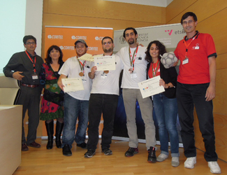 CS Team Wins A BRONZE Medal in 2012 International Programming Contest