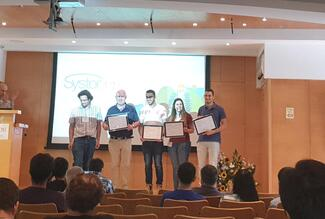 Best Poster Prize to CS Students