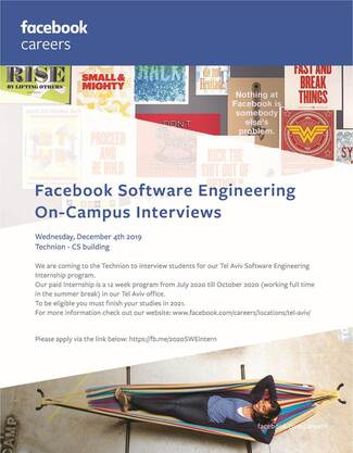 Interview Day by FACEBOOK