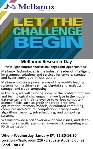 Mellanox Event at CS